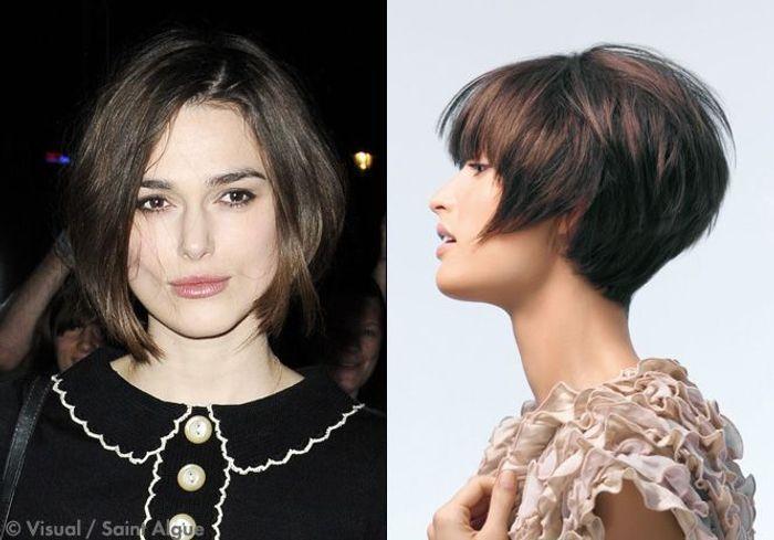 Coupe de cheveux pour femme petite et ronde