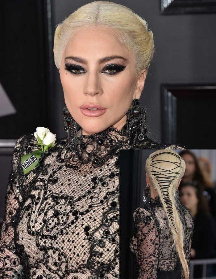 Le beauty look d'amazone de Lady Gaga