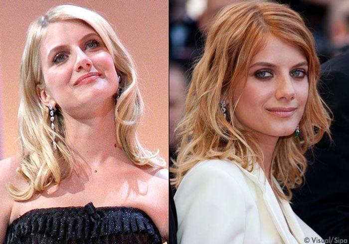 Blond b b ou v nitien m lanie laurent commente ses looks pr f r s elle - Comment obtenir blond venitien ...