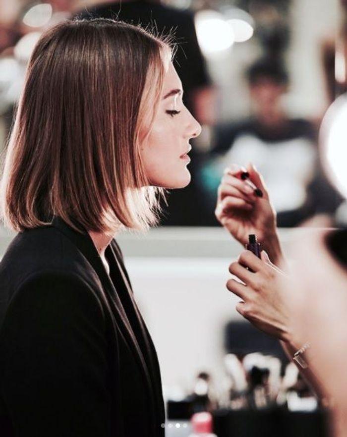 Le make-up très naturel du défilé Ralph Lauren printemps-été 18