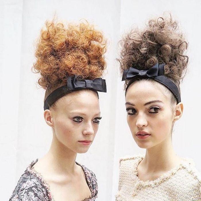 Les mannequins Chanel coiffées par Sam McKnight