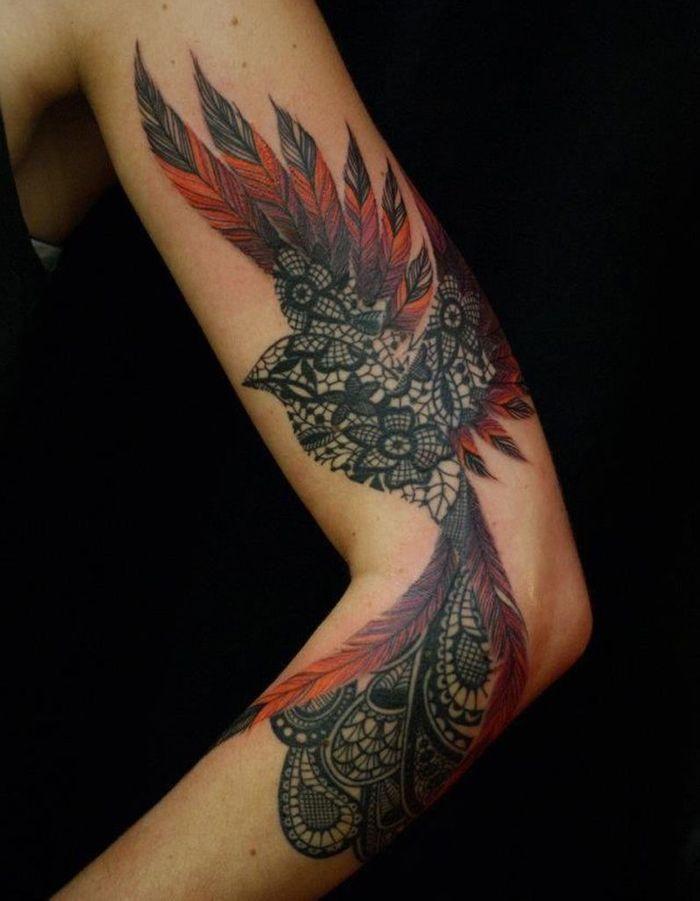 id e tatouage un oiseau majestueux les 40 plus beaux. Black Bedroom Furniture Sets. Home Design Ideas
