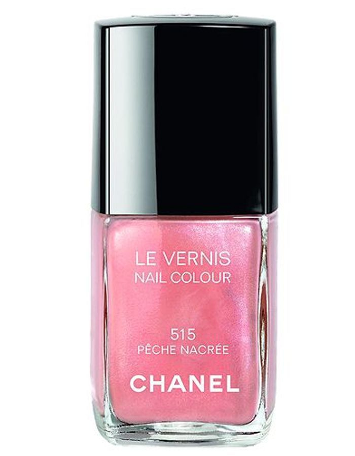 Beaute make up tendance vernis ongle rose chanel