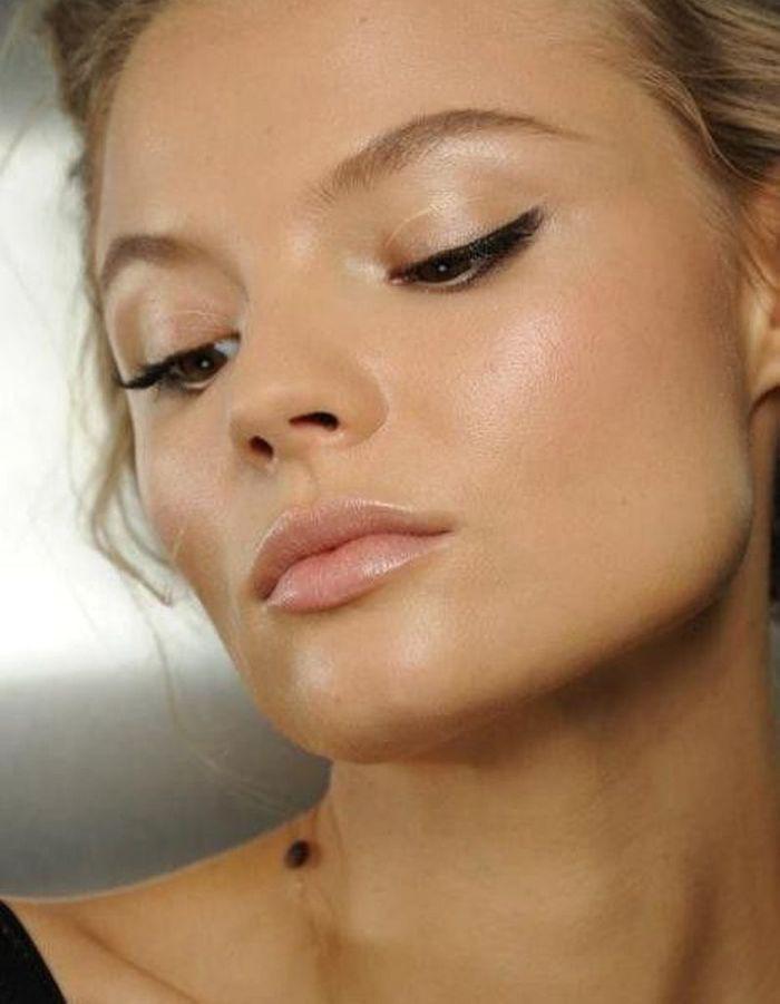 teint naturel visage teint naturel 20 inspirations pour une peau encore plus belle elle. Black Bedroom Furniture Sets. Home Design Ideas