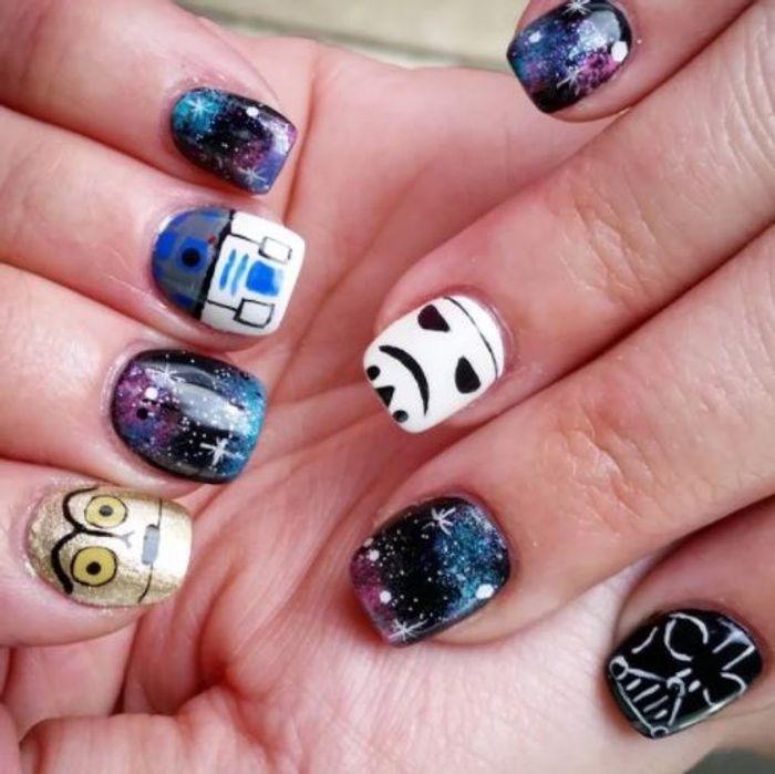 Manucure Star Wars originale