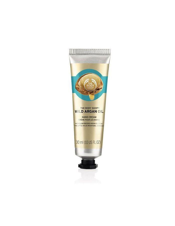 Crème pour les mains huile d'argan The Body Shop, 6€