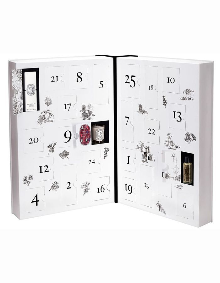 calendrier de l avent beaut 2015 de diptyque 300 les calendriers de l avent beaut qui nous. Black Bedroom Furniture Sets. Home Design Ideas