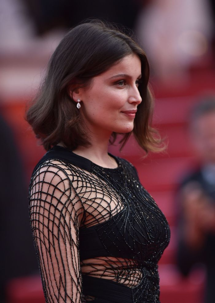 coiffure de laetitia casta coiffures la mode de la. Black Bedroom Furniture Sets. Home Design Ideas