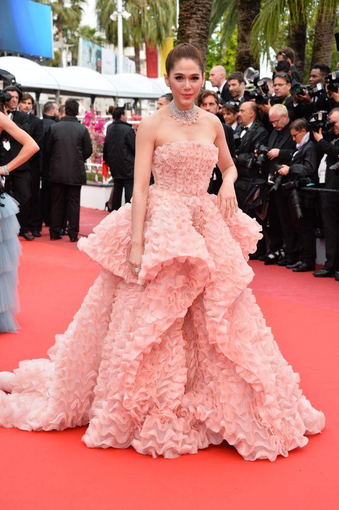 Araya H Hargate Cannes 2016 De Blake Lively Eva Longoria Les Plus Belles Robes De La