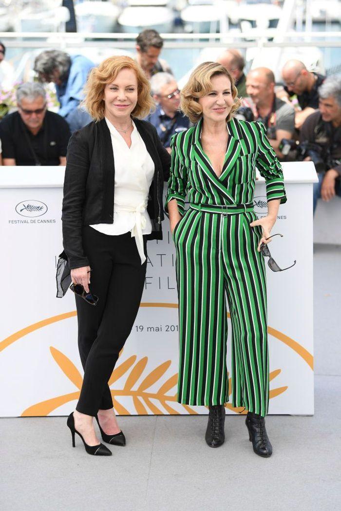 L'actrice Cecilia Roth victime du soleil de Cannes