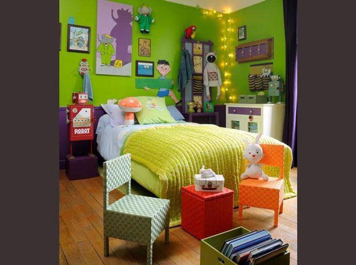 Chambre d 39 enfants un espace qui leur ressemble elle - Petit blanc d ivoire ...