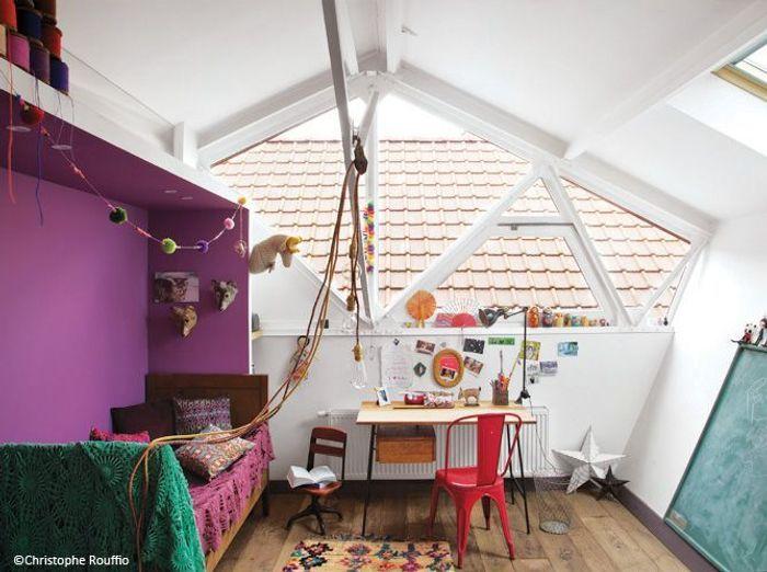 une chambre denfant cocon - Chambre Loft Bebe