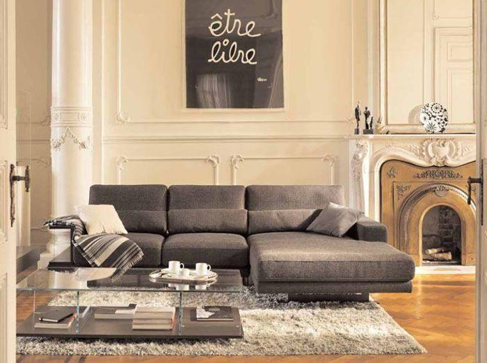 grands canap s le confort xxl elle d coration. Black Bedroom Furniture Sets. Home Design Ideas