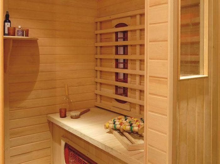 Hammam ou sauna elle d coration for Sauna exterieur avec douche