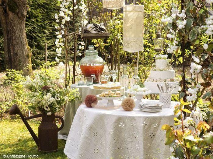 jolies id es d co pour un mariage la campagne elle d coration. Black Bedroom Furniture Sets. Home Design Ideas