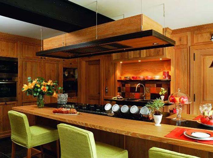 Les mat riaux dans la cuisine elle d coration for De cuisines conviviales