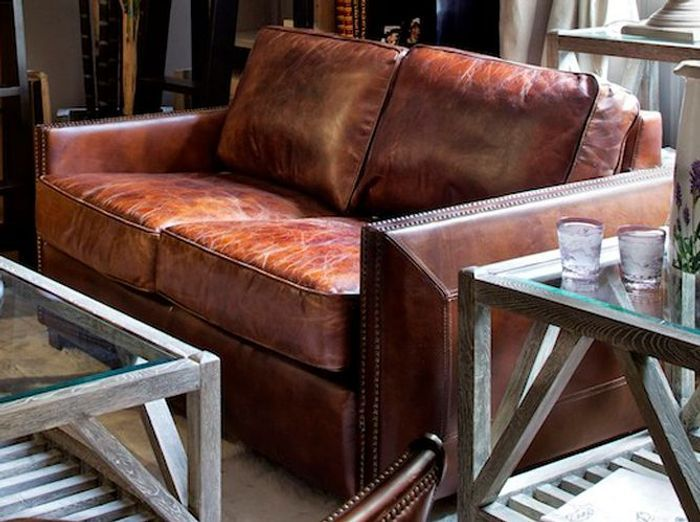 Les nouveaux canapés en cuir