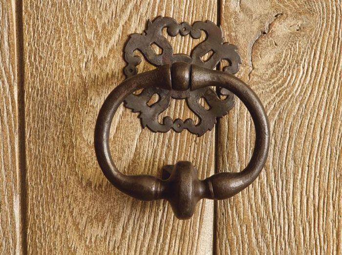 Les portes d 39 entr es donnent le ton elle d coration - Heurtoir de porte d entree ...