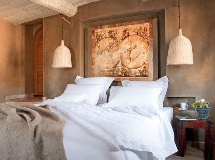 Linge de lit en lin et mati res naturelles elle d coration - Linge de maison cyrillus ...