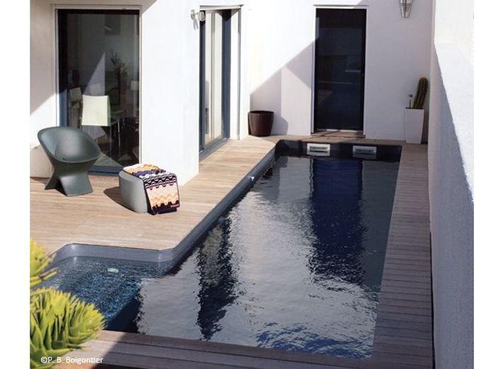10 petites piscines qui donnent envie elle d coration - Petite piscine design ...