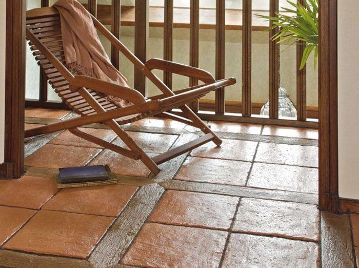 quand les sols mixent les mati res elle d coration. Black Bedroom Furniture Sets. Home Design Ideas