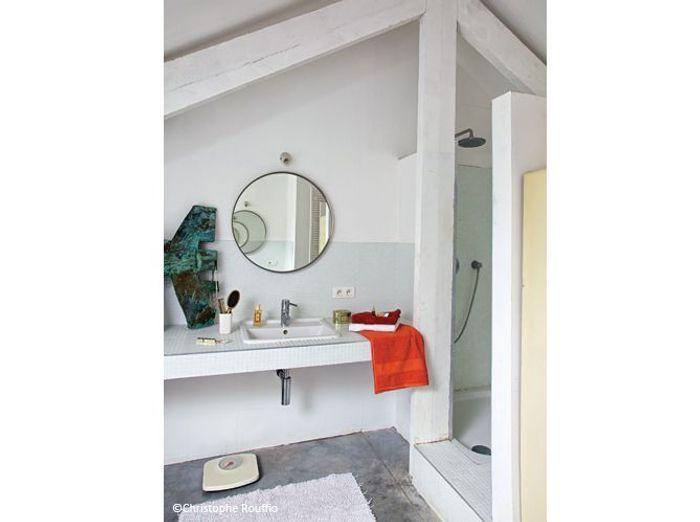 Renovation grange salle de bains