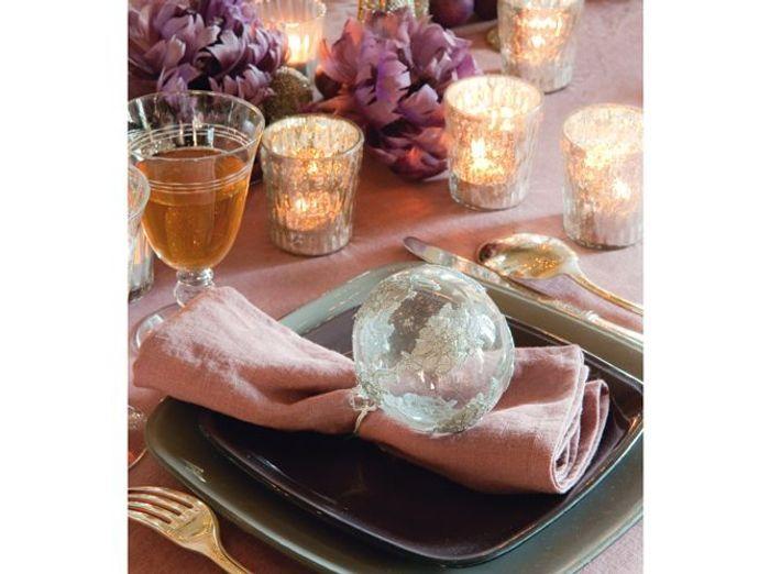 Tables De Fêtes De Belles Idées Pour Recevoir Elle Décoration - Table 60 x 80 pour idees de deco de cuisine