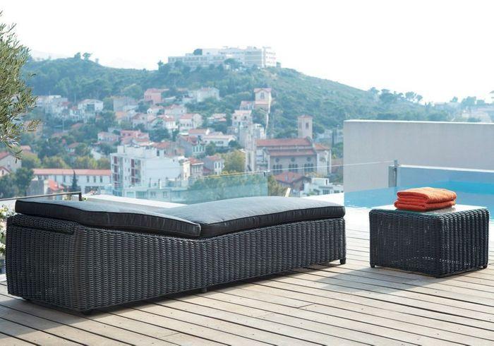 30 chaises longues pour se d tendre elle d coration. Black Bedroom Furniture Sets. Home Design Ideas
