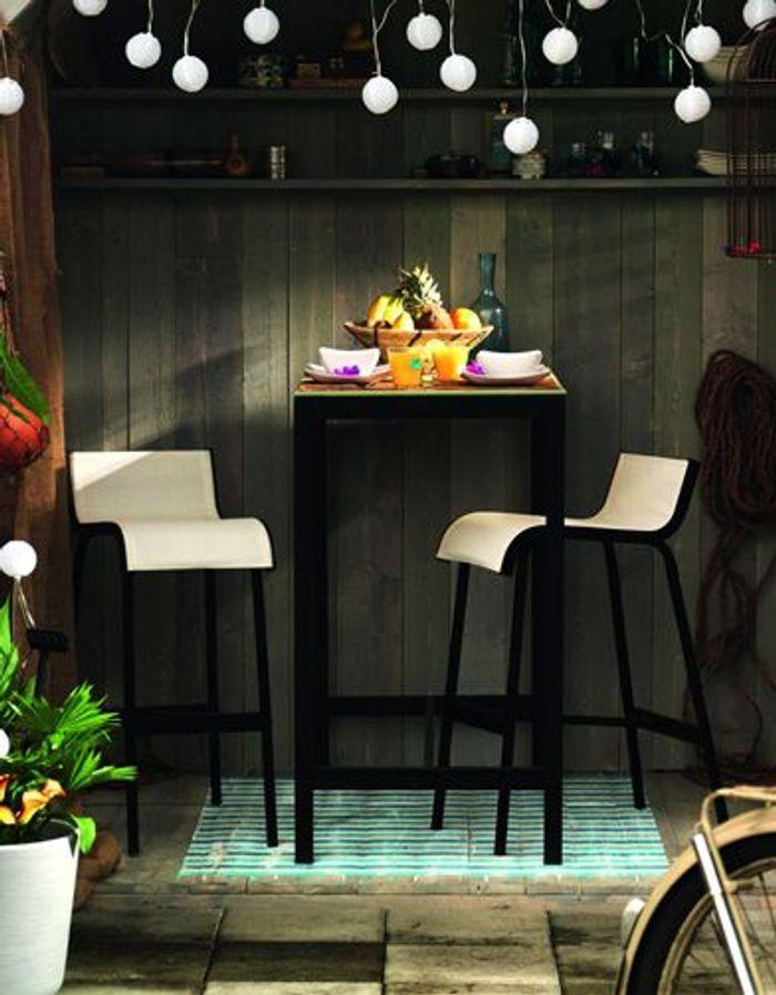 Affordable table et tabouret de bar ammer ikea with fauteuil de bar ikea - Ikea arcones jardin roubaix ...
