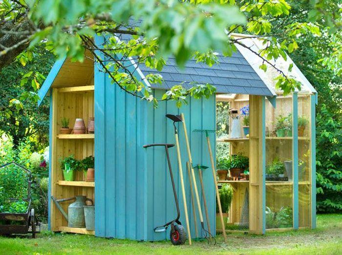 24 abris pour votre jardin abris de jardin elle d coration for Modele de deco de jardin