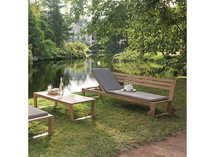 40 chaises longues et transats pour un été relax ! - Elle Décoration