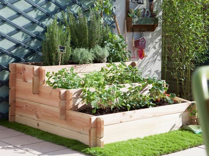petits potagers 16 solutions faciles elle d coration. Black Bedroom Furniture Sets. Home Design Ideas