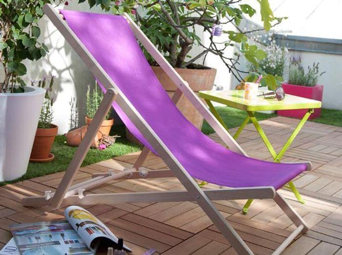Quelle chaise longue pour mon jardin elle d coration for Chaise longue pour le jardin