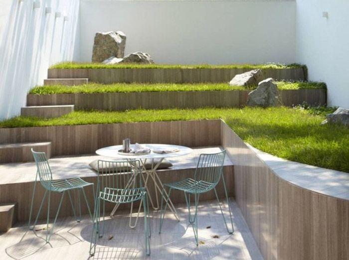 5 id es pour un jardin design elle d coration - Decoration de jardin design ...