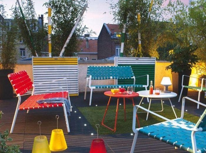Meubles de jardin craquez pour notre s lection color e for Ameublement de jardin