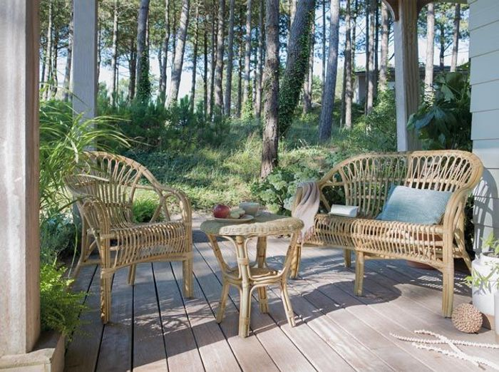 Table basse jardin jardiland for Site mobilier jardin