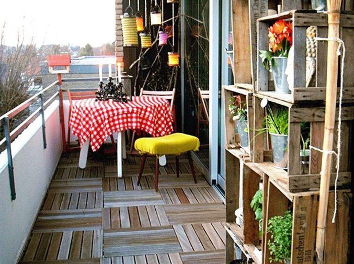 5 id es de jardin pour mini balcon elle d coration. Black Bedroom Furniture Sets. Home Design Ideas