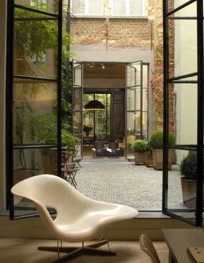 Créer une ambiance hôtel dans le patio