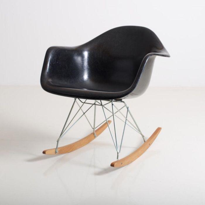 Rocking Chair RAR par Charles & Ray Eames pour Herman Miller