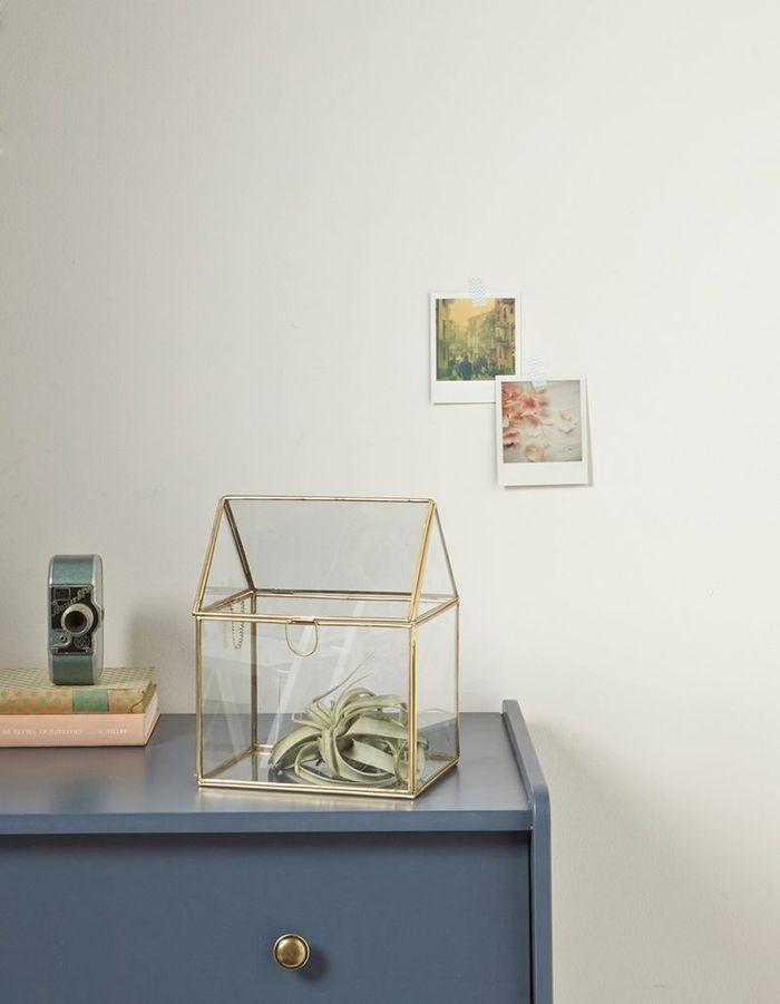 Photophore en verre et métal Cyrillus