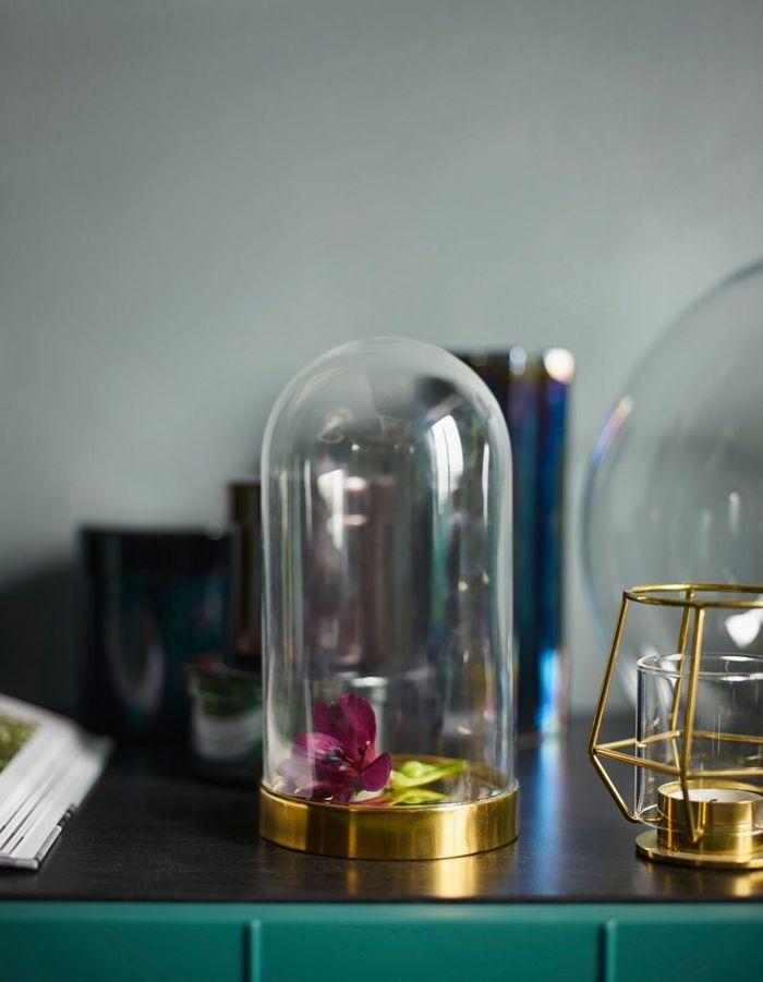 Cloche en verre Ikea