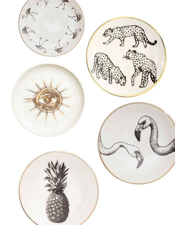 Assiettes en porcelaine H&M Home