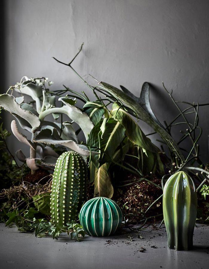 De la petite décoration cactus en céramique