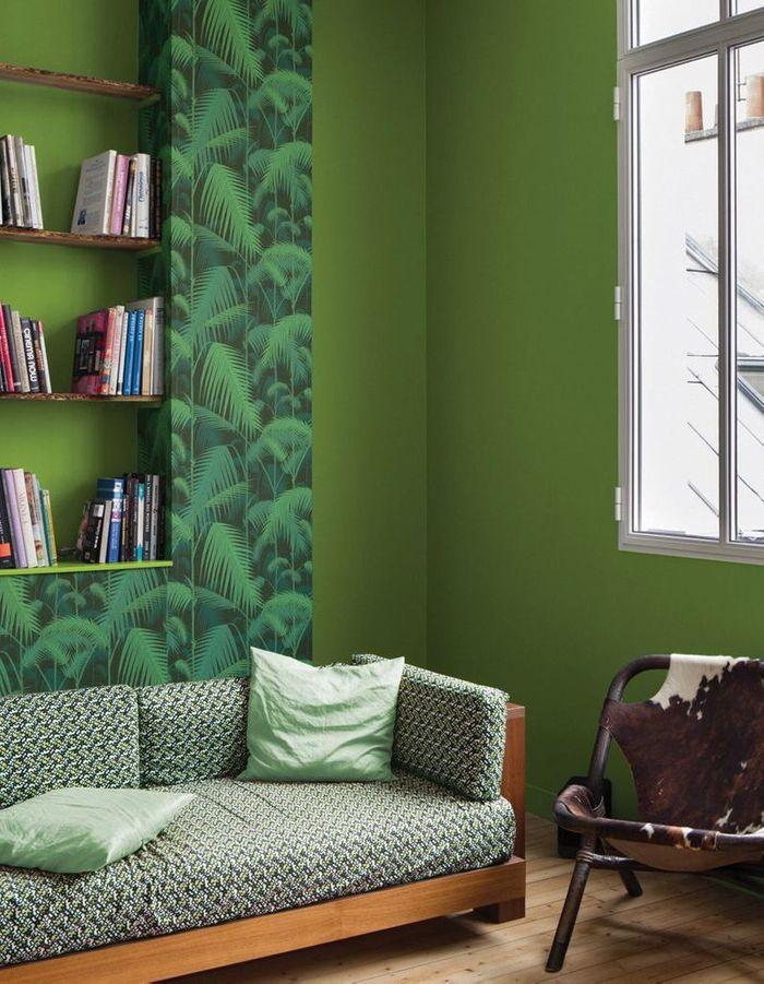 vert la preuve que le vert est la couleur de l 39 ann e 2017 elle d coration. Black Bedroom Furniture Sets. Home Design Ideas