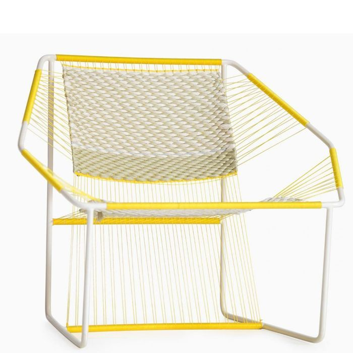 Fuchila Chair Naturel et Jaune par Marina Dragomirova