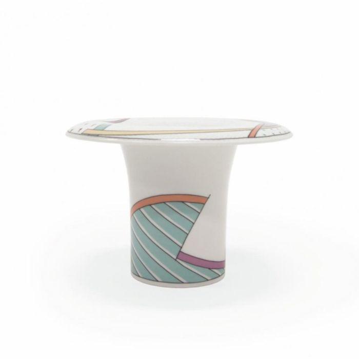 Vase Century New Wave par Tapio Wirkkala et Dorothy Hafner pour Rosenthal, 1985