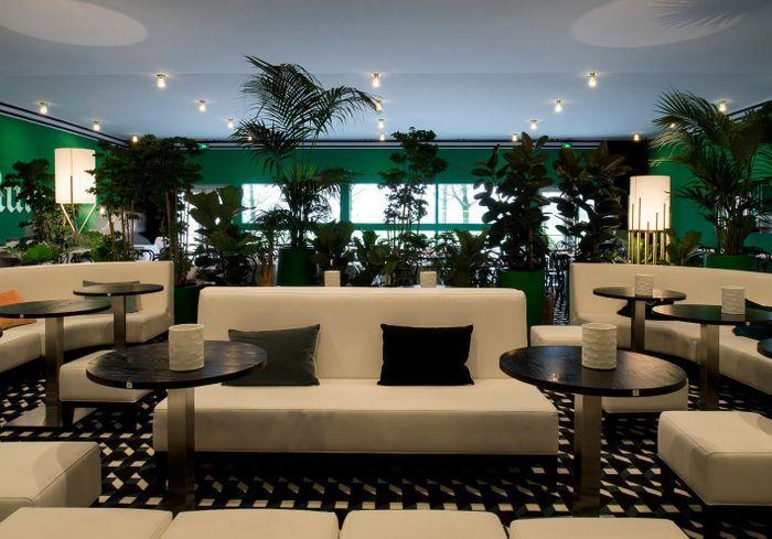 PAD 2017 : revivez l'opening du café ELLE Décoration décoré par Maison Sarah Lavoine
