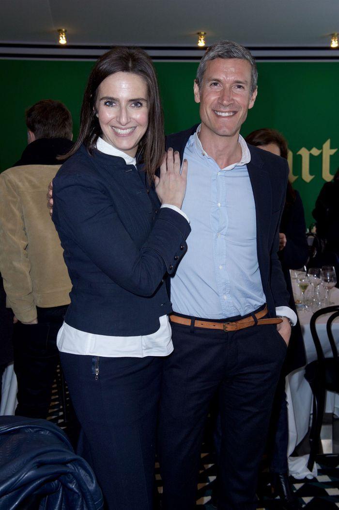 Anne Schuhmacher (Christian Liaigre) et Patrick Robin (ELLE Décoration)