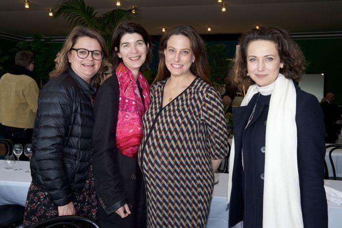 Anne-Sophie Lefèvre (KR Media), Valérie Magne (Hermès), Alexandra Fain (Paris Asia Art Fair) , Hélène Dubrule (Hermès)