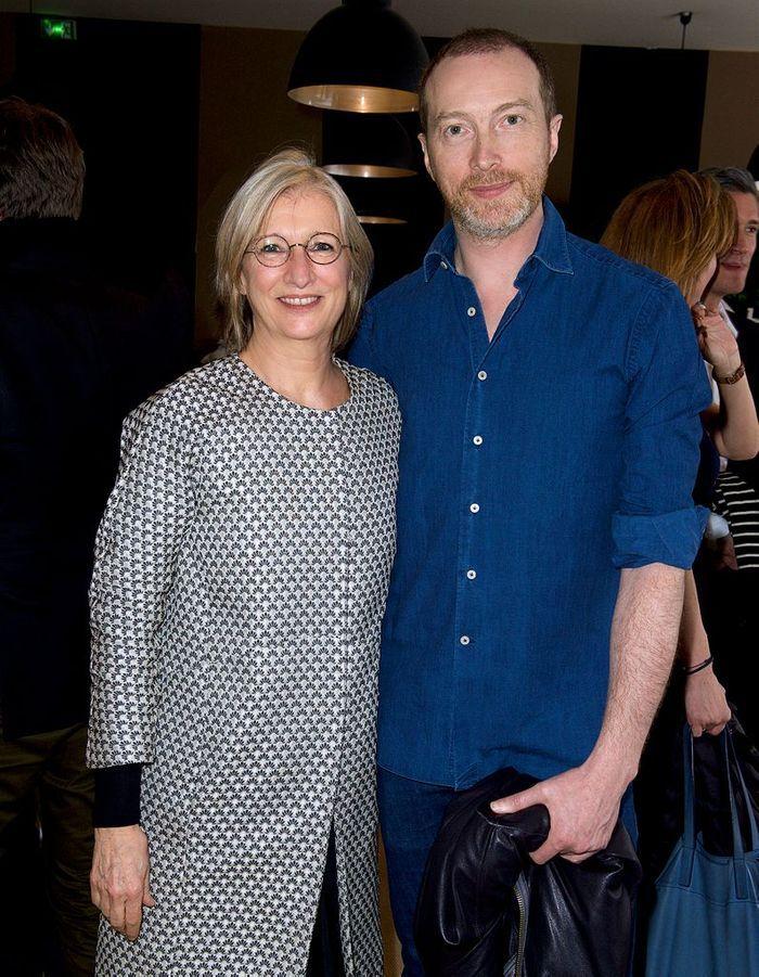 Brigitte Huard (ELLE Décoration), Christophe Delcourt (designer)